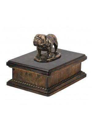 Bulldog - exlusive urn