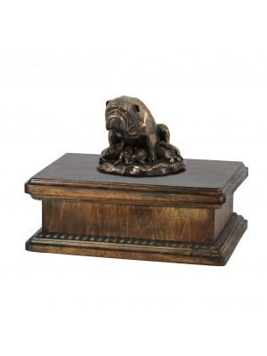 Bulldog mama - exlusive urn