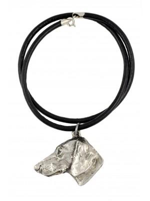 Dachshund - necklace (strap) - 244