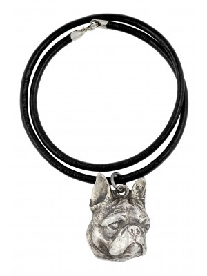 Boston Terrier - necklace (strap) - 308