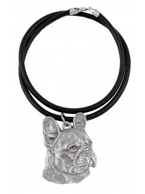 French Bulldog - necklace (strap) - 341