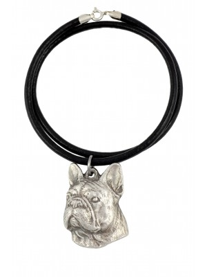 French Bulldog - necklace (strap) - 396