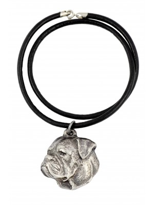 American Bulldog - necklace (strap) - 439
