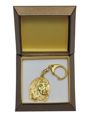 Afghan Hound - keyring (gold plating) - 2444 - 27315