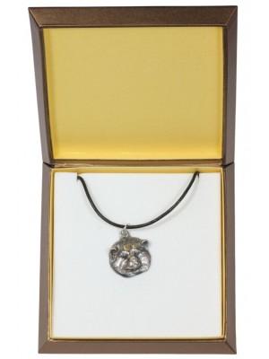 Akita Inu - necklace (silver plate) - 2945 - 31089
