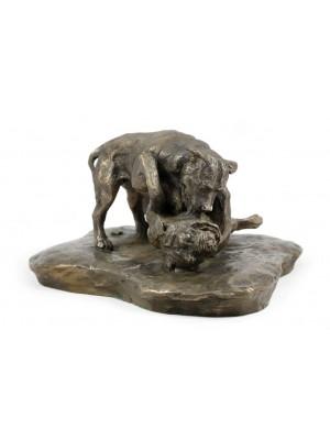 American Pit Bull Terrier - figurine (bronze) - 1590 - 8264