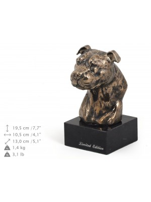 American Staffordshire Terrier - figurine (bronze) - 164 - 9099