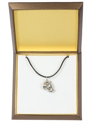 American Staffordshire Terrier - necklace (silver plate) - 2910 - 31054