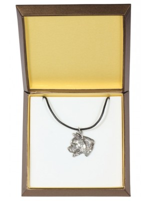American Staffordshire Terrier - necklace (silver plate) - 2915 - 31059