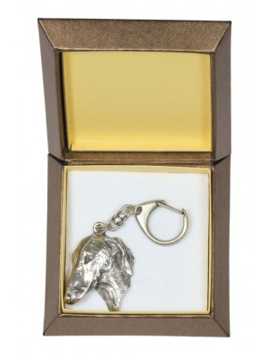 Azawakh - keyring (silver plate) - 2782 - 29902