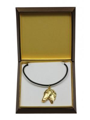 Azawakh - necklace (gold plating) - 3053 - 31689