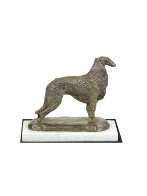 Barzoï Russian Wolfhound - figurine (bronze) - 4596 - 41396