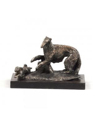 Barzoï Russian Wolfhound - figurine (bronze) - 580 - 3137