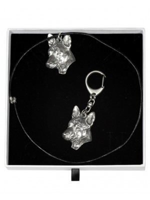 Basenji - keyring (silver plate) - 2011 - 16166
