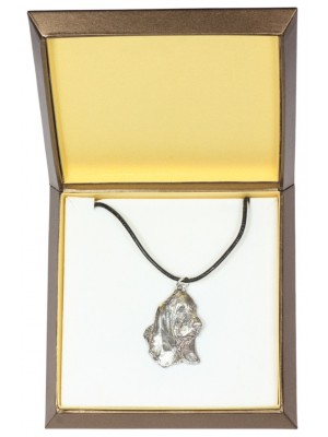 Basset Hound - necklace (silver plate) - 3005 - 31148