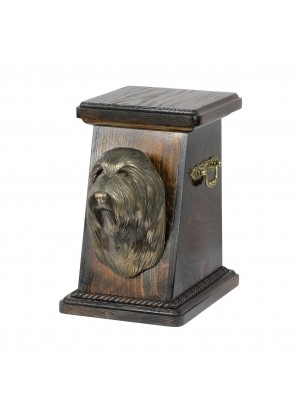 Bearded Collie - urn - 4189 - 39116