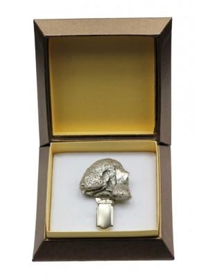 Bedlington Terrier - clip (silver plate) - 2570 - 28151