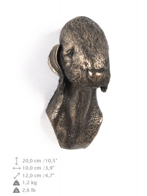 Bedlington Terrier - figurine (bronze) - 358 - 9865