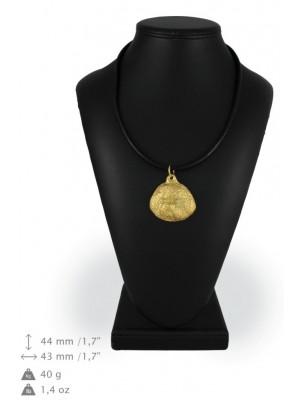 Bichon Frise - necklace (gold plating) - 1597 - 25577