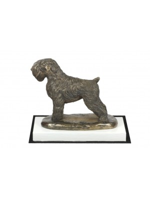 Black Russian Terrier - figurine (bronze) - 4551 - 41031