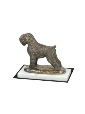 Black Russian Terrier - figurine (bronze) - 4593 - 41380