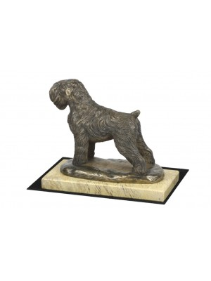 Black Russian Terrier - figurine (bronze) - 4636 - 41607