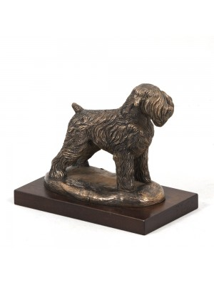 Black Russian Terrier - figurine (bronze) - 578 - 2629