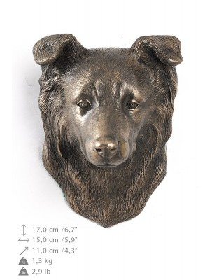 Border Collie - figurine (bronze) - 362 - 9868