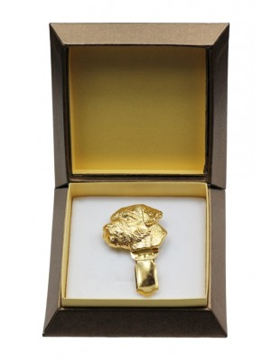 Border Terrier - clip (gold plating) - 2599 - 28560