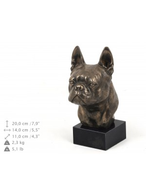 Boston Terrier - figurine (bronze) - 183 - 9113