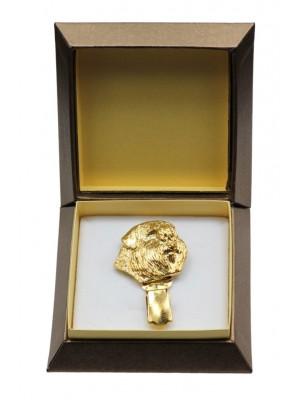 Bouvier des Flandres - clip (gold plating) - 2624 - 28585