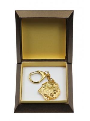 Bouvier des Flandres - keyring (gold plating) - 2851 - 30565