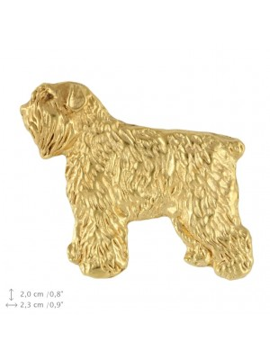Bouvier des Flandres - pin (gold plating) - 2385 - 26153