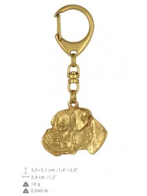 Boxer - keyring (gold plating) - 816 - 25102
