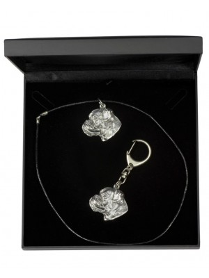 Boxer - keyring (silver plate) - 1777 - 11601