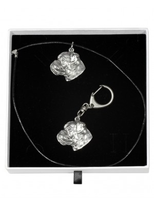 Boxer - keyring (silver plate) - 1960 - 15017