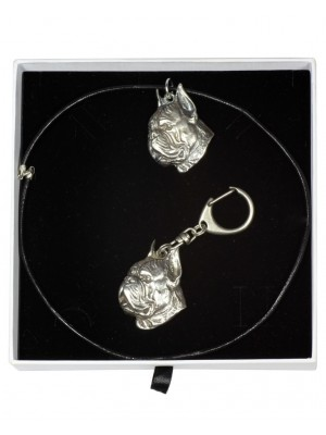 Boxer - keyring (silver plate) - 1995 - 15806