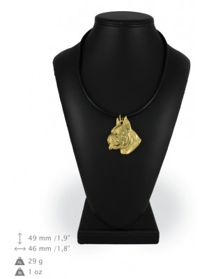 Boxer - necklace (gold plating) - 919 - 25351