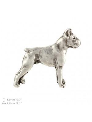 Boxer - pin (silver plate) - 2221 - 22268