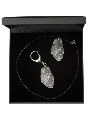 Briard - keyring (silver plate) - 1807 - 12057