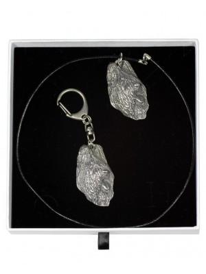 Briard - keyring (silver plate) - 1990 - 15696