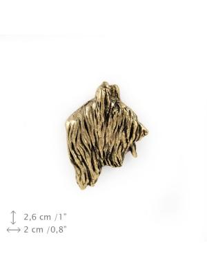 Briard - pin (gold plating) - 1089 - 7921