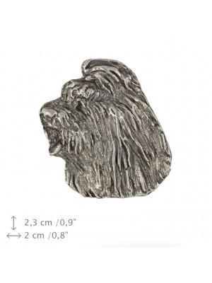 Briard - pin (silver plate) - 469 - 25984