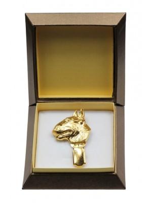 Bull Terrier - clip (gold plating) - 2597 - 28558