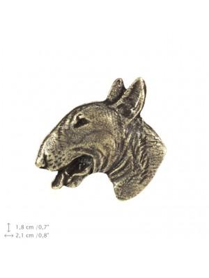 Bull Terrier - pin (silver plate) - 1531 - 22233