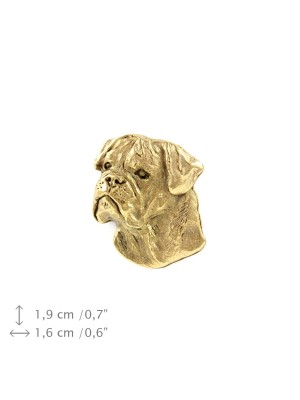 Bullmastiff - pin (gold plating) - 1059 - 7724