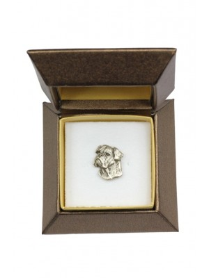 Bullmastiff - pin (silver plate) - 2638 - 28919
