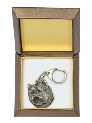 Cairn Terrier - keyring (silver plate) - 2767 - 29887