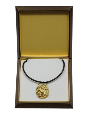 Cairn Terrier - necklace (gold plating) - 3048 - 31684
