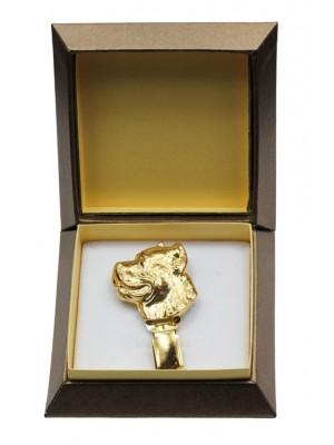 Cane Corso - clip (gold plating) - 2607 - 28568